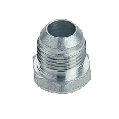 Fitting, Bung, Weld-In, Male -8 AN, Aluminum, Each
